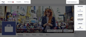 facebook page - admin